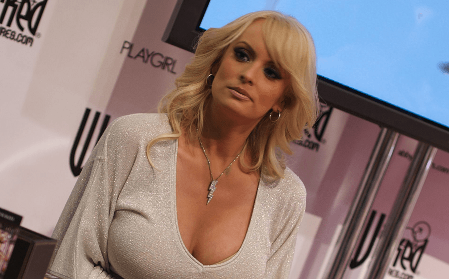 Stormy Daniels lawyer says Trump is on tape talking about the case.