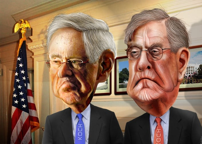 Koch brothers take on Trump over tariffs with multi-million dollar campaign