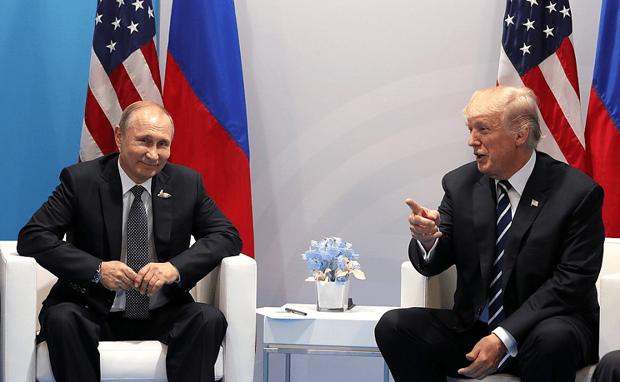 Donald Trump cozy with Putin at G20; stands in for him at G7